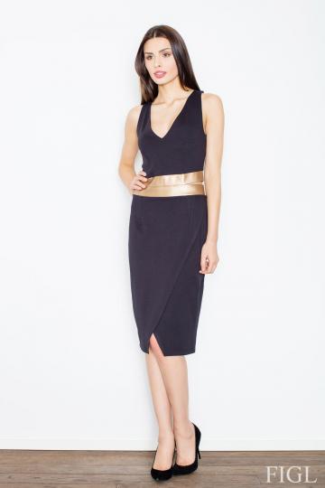 Evening dress model 52585 Figl