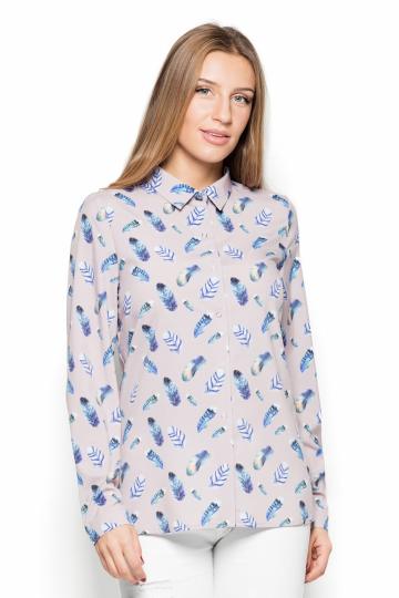 Marškiniai ilgomis rankovėmis modelis 76983 Katrus