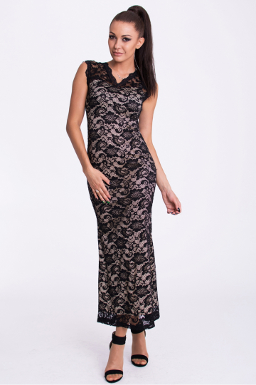 Long dress modelis 61332 YourNewStyle
