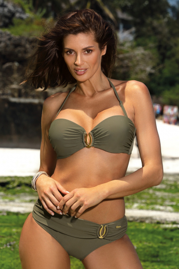 Two-Piece Swimsuit Kostium k pielowy Model Cameron Kaki M-523 Khaki - Marko