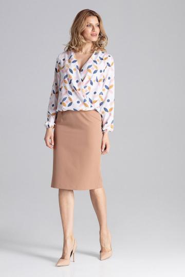 Klasikinis sijonas modelis 129748 Figl