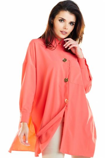 Marškiniai ilgomis rankovėmis modelis 129958 awama