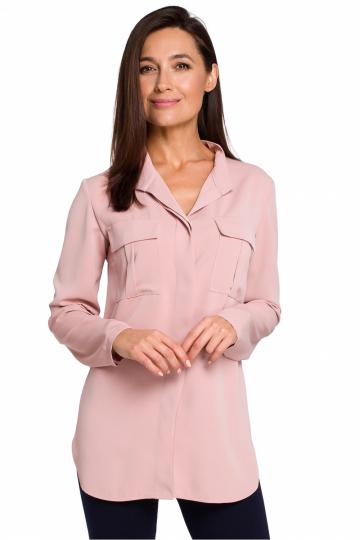Marškiniai ilgomis rankovėmis modelis 130456 Style