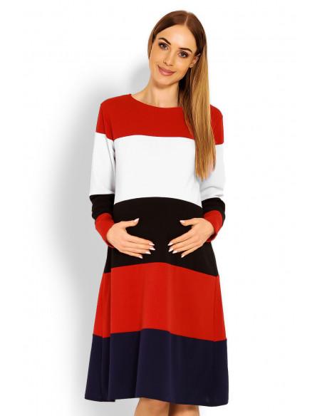 Suknelė nėštukei modelis 114520 PeeKaBoo