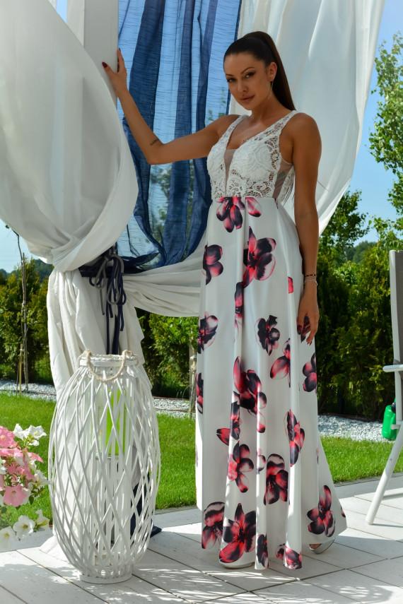 Ilga suknelė modelis 134069 YourNewStyle