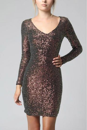 Trumpa suknelė modelis 137636 YourNewStyle