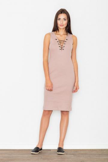 Evening dress model 62651 Figl