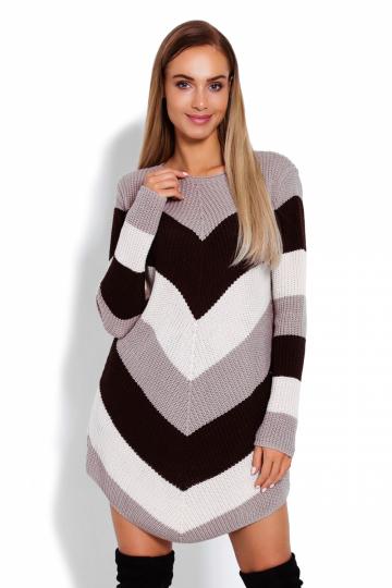 Ilgas džemperis modelis 122914 PeeKaBoo