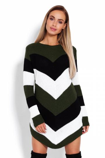 Ilgas džemperis modelis 122916 PeeKaBoo