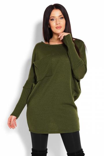 Ilgas džemperis modelis 123407 PeeKaBoo