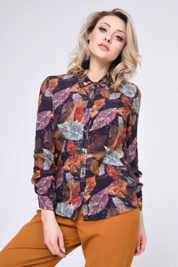 Marškiniai ilgomis rankovėmis modelis 140378 Vitesi