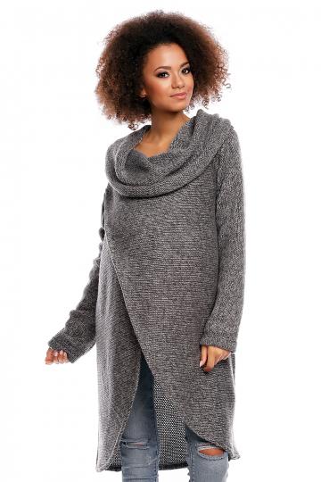 Ilgas džemperis modelis 84290 PeeKaBoo