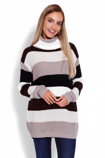 Ilgas džemperis modelis 123473 PeeKaBoo