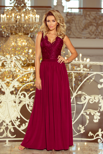 Long dress modelis 124387 Numoco