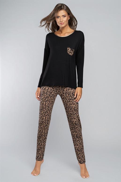 Pižama, Komplet Pi ama Damska Stilingosl Eila d .r. d .sp. Black - Italian Fashion