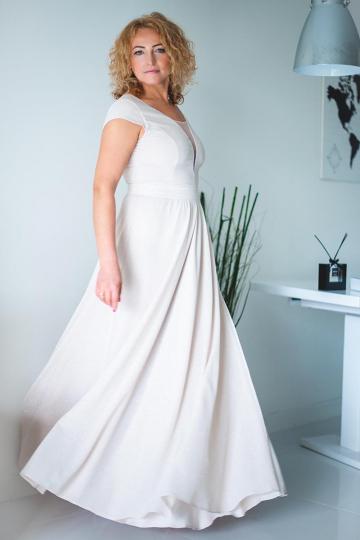Ilga suknelė modelis 132934 Jersa