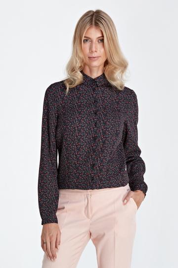 Marškiniai ilgomis rankovėmis modelis 118912 Colett