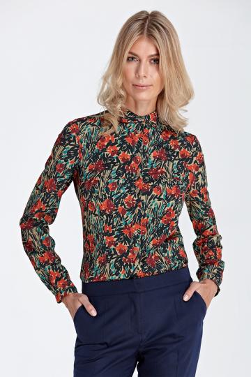 Marškiniai ilgomis rankovėmis modelis 118931 Colett