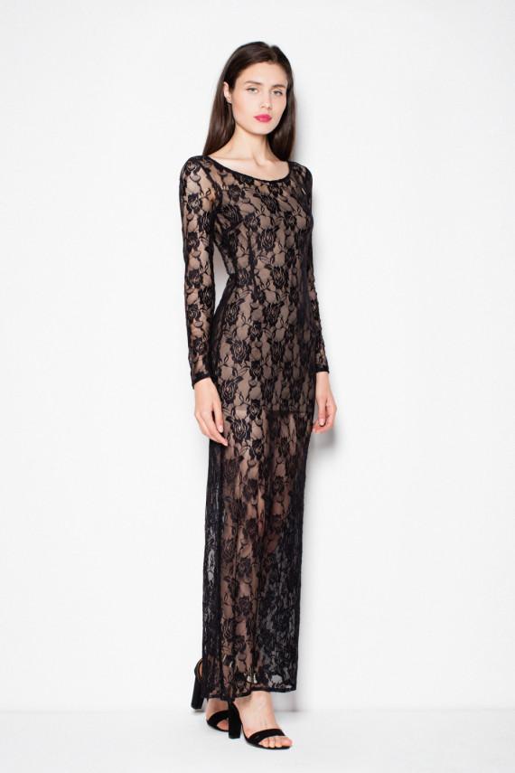 Long dress modelis 77157 Venaton