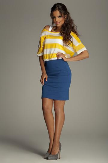 Trumpas sijonas modelis 10106 Figl
