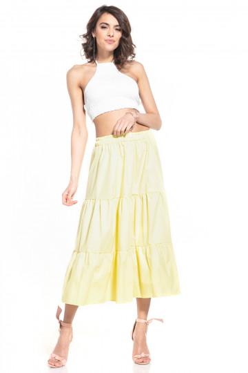 Ilgas sijonas modelis 152906 Tessita