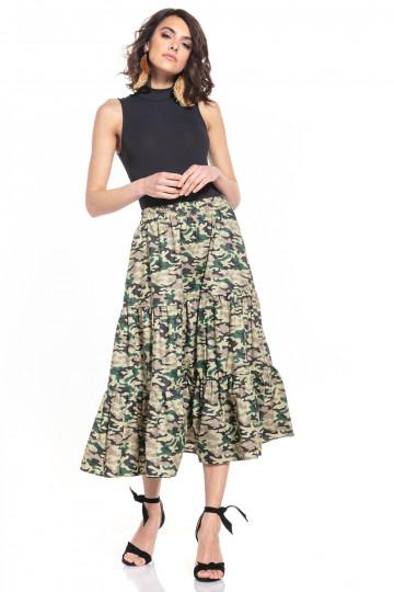 Ilgas sijonas modelis 152857 Tessita