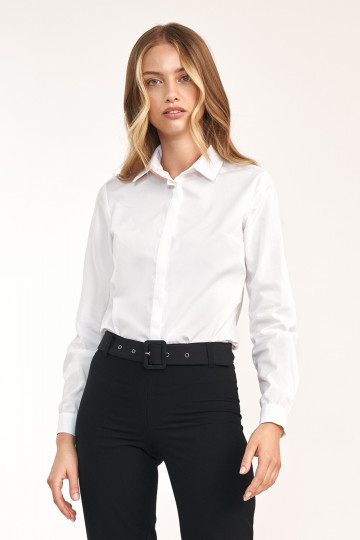 Marškiniai ilgomis rankovėmis modelis 157897 Nife