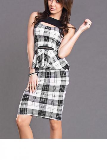 Klasikinis sijonas modelis 28998 YourNewStyle
