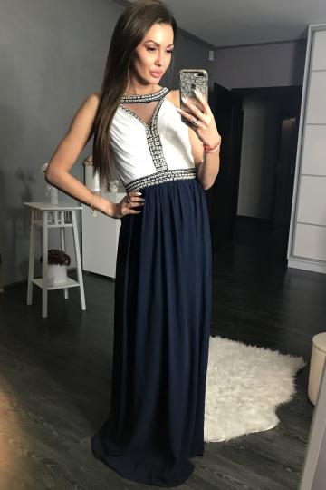 Long dress modelis 105281 YourNewStyle