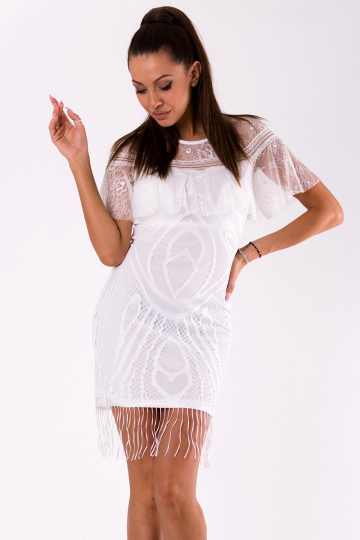 Trumpa suknelė modelis 126451 YourNewStyle