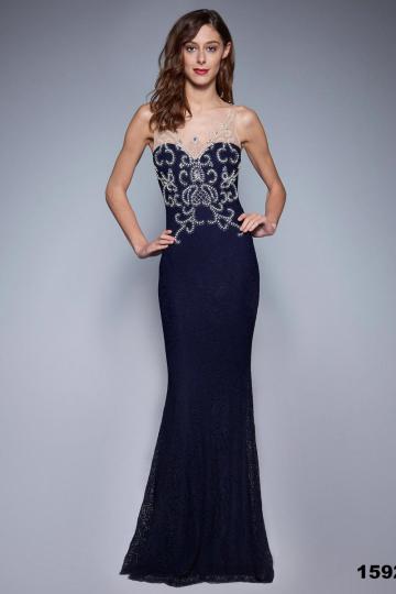 Ilga suknelė modelis 124628 YourNewStyle